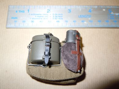 DiD - WWII - GERMAN - 6th Army STALINGRAD - JOSEF - BREAD BAG, MESS TIN & WATER BOTTLE